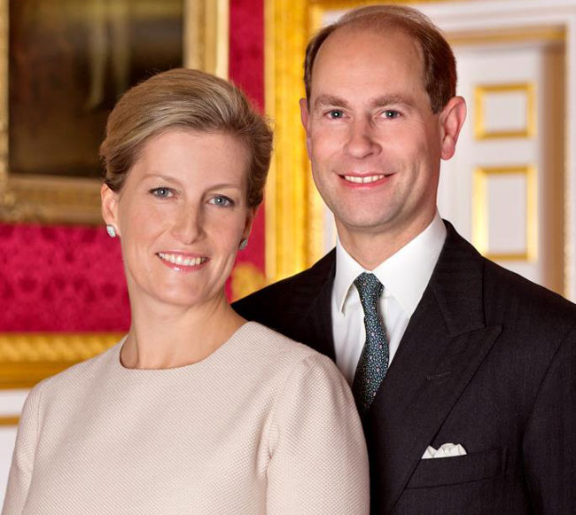 Earl and Countess of Wessex to visit Sri Lanka