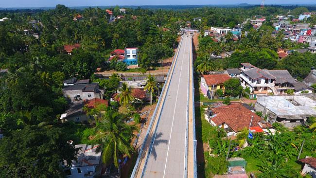 Ganemulla flyover declared open