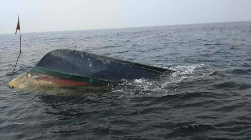 Capsized Sri Lanka boat found in Maldives
