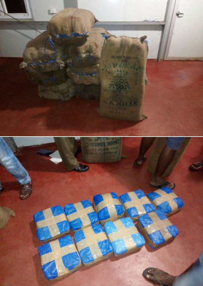 356kg of Kerala Cannabis found in Kayakkuli