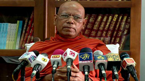 Omalpe Sobitha Thero condemns Finance Minister's decision on liquor