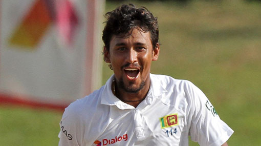 Suranga Lakmal named Sri Lanka's Test vice-captain