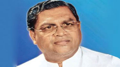 Former Sabaragamuwa Chief Minister Maheepala Herath joins the SLPP