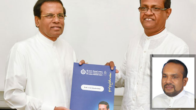 Ranjith Zoysa removed from SLFP Organiser post