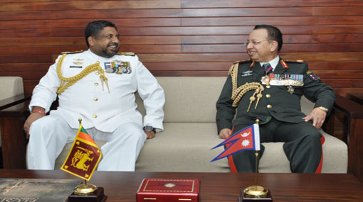 Nepal Chief of Army Staff calls-on CDS