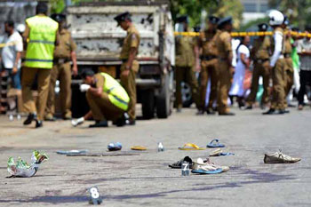 Kataragama shooting incident :58 protesters arrested