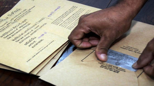 Postal voting for Local Government elections commenced today