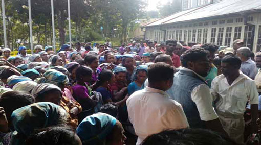 Parents protest against Uva Chief Minister