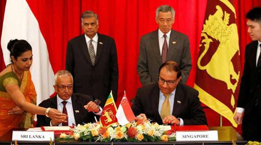 Singapore firms bullish about Sri Lanka amid news of FTA