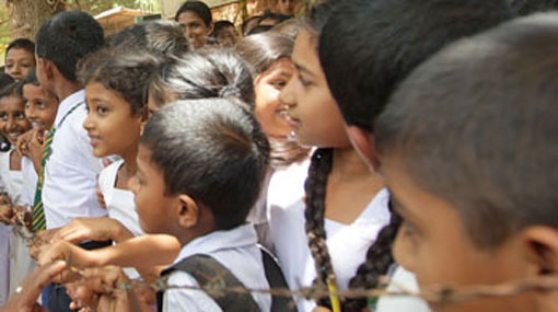 Children being used for various election activities - NCPA