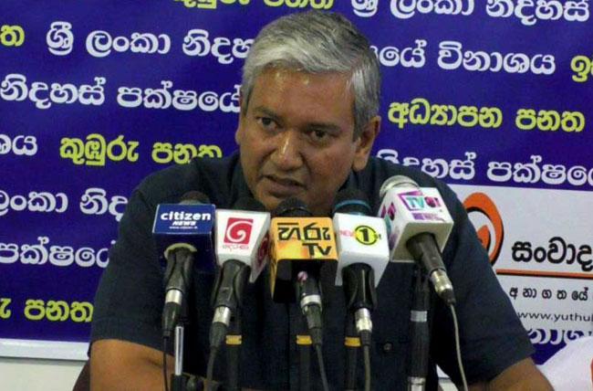 Ravi should leave politics completely - Gevindu