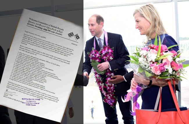 No such committee called 'Welcome Committee of British Royals' – Govt
