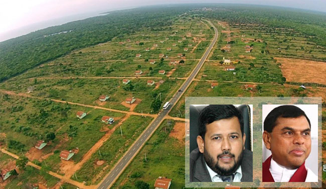 Rishad and Basil issued notice over Wilpattu case