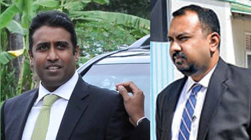 Arjun Aloysius and Kasun Palisena remanded
