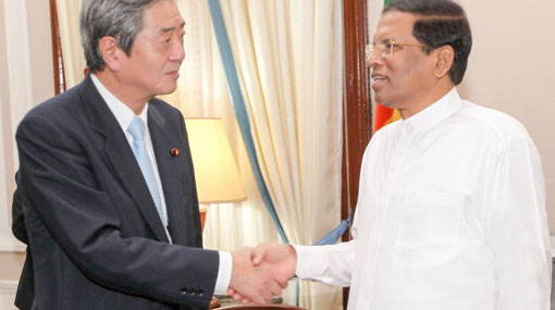Japanese Prime Minister's special envoy meets with the President