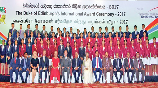 Students receive global awards from Prince Edward
