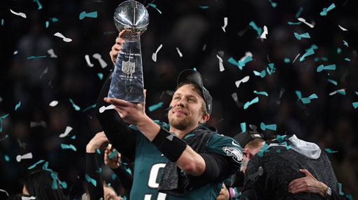 Philadelphia wins first Super Bowl in thrilling win over New England