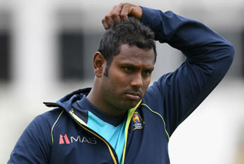 Mathews ruled out of Bangladesh T20Is
