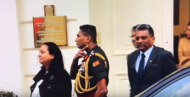 British MPs want Sri Lanka's Defence Attaché expelled for 'throat slit' gesture