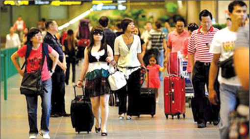 Tourist arrivals grow 12.6 percent in January