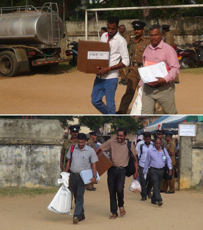 Sri Lanka prepares for polls...