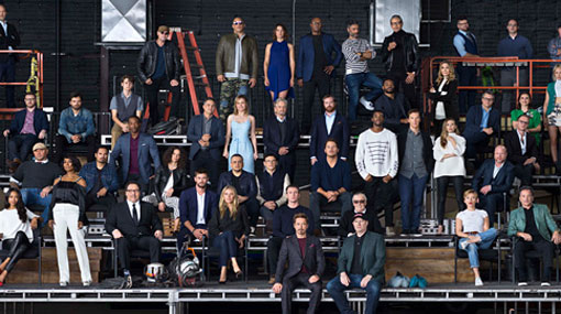 Marvel celebrates its 10th birthday with iconic cast photo
