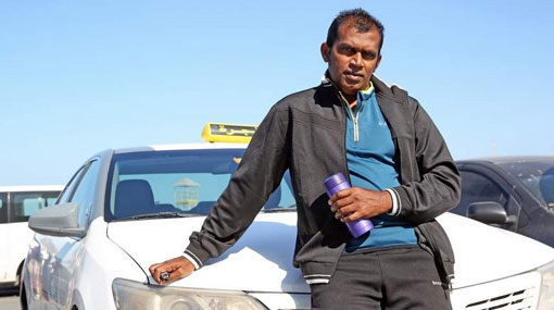How a Sri Lankan hero became a taxi driver in UAE