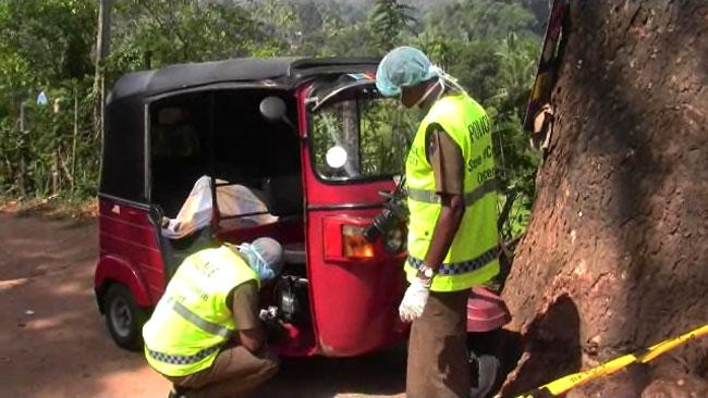 Body found inside three-wheeler in Matale