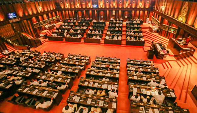 Parliament to debate current political situation