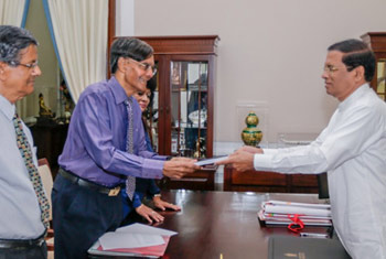 First draft of National Sustainability Dialogue presented to President
