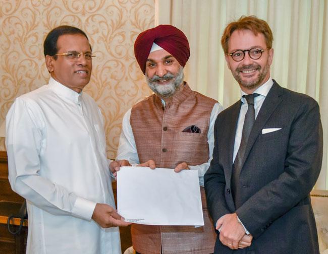 President invited for the Solar Summit in New Delhi