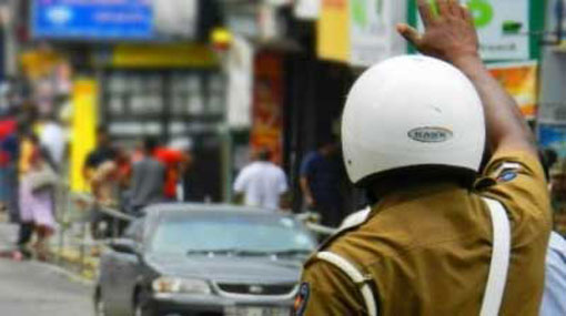 Traffic restricted in several roads in Colombo tomorrow
