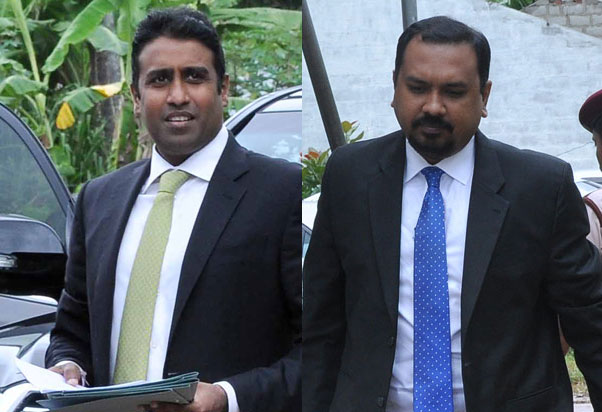 HC to decide on revision applications filed by Aloysius and Palisena