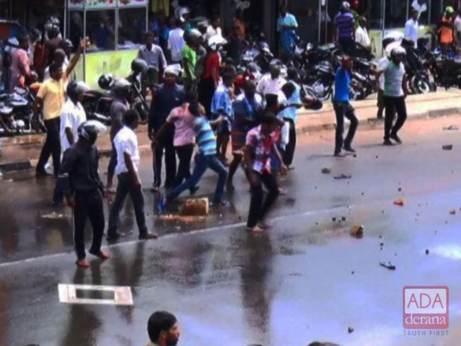 44 arrested over Thambuttegama incident; 4 cops injured