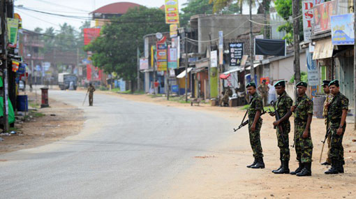 Police curfew in Kandy administrative district re-imposed