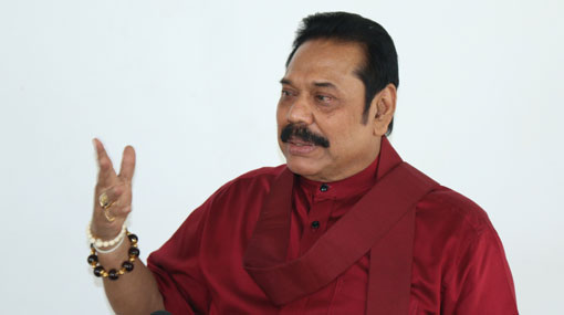 Rajapaksa urges citizens to refrain from all acts of violence