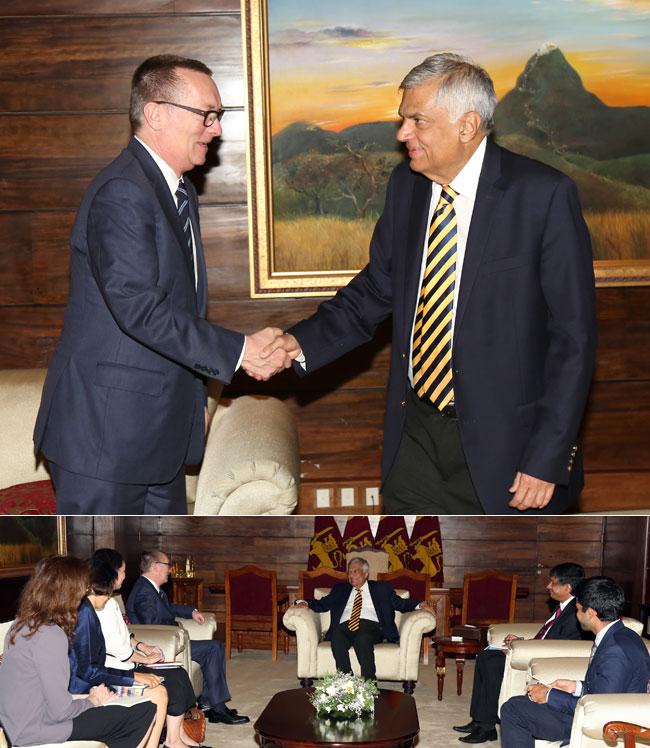 UN political chief meets PM...