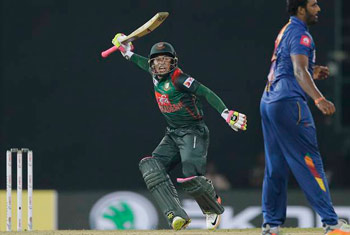 Bangladesh pull off record chase against Sri Lanka