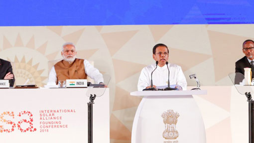 Solar Alliance can bring about solutions to create a greener, cleaner, healthy world – President