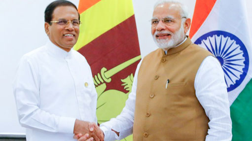 President meets with Indian Prime Minister & Executive Director of UN Environment Programme