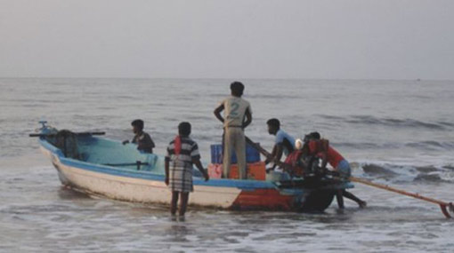Three fishermen from Mullaitivu go missing at sea