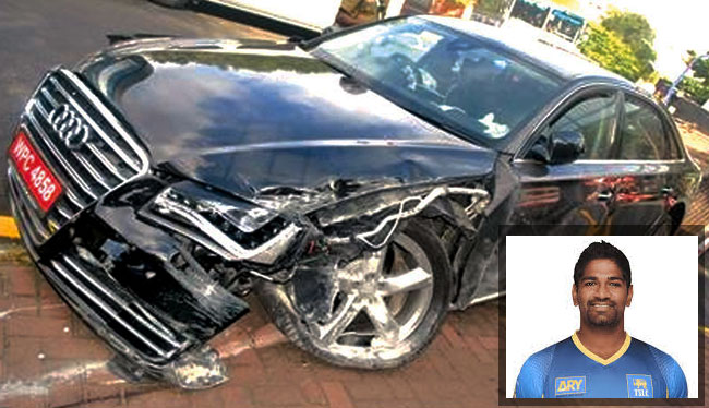 Ramith Rambukwella's driving license suspended