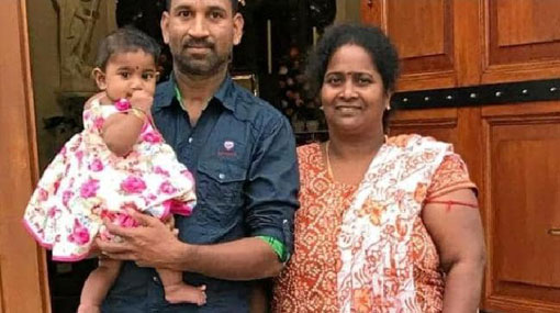 Sri Lankan family pulled from plane minutes before deportation