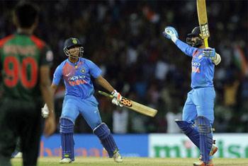 India beat Bangladesh to win Nidahas Trophy