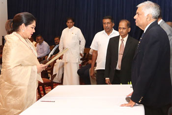Colombo's first female Mayor takes oath…