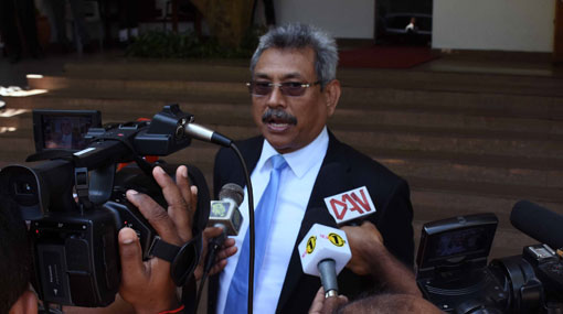 Crimes have increased due to govt's incapability – Gotabaya