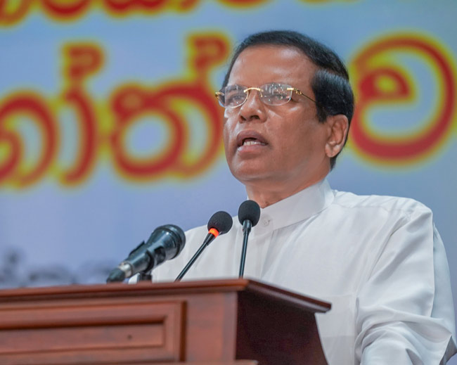 No party could capture power without assistance of SLFP - President