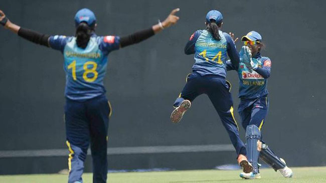 Siriwardene sets up convincing Sri Lanka victory