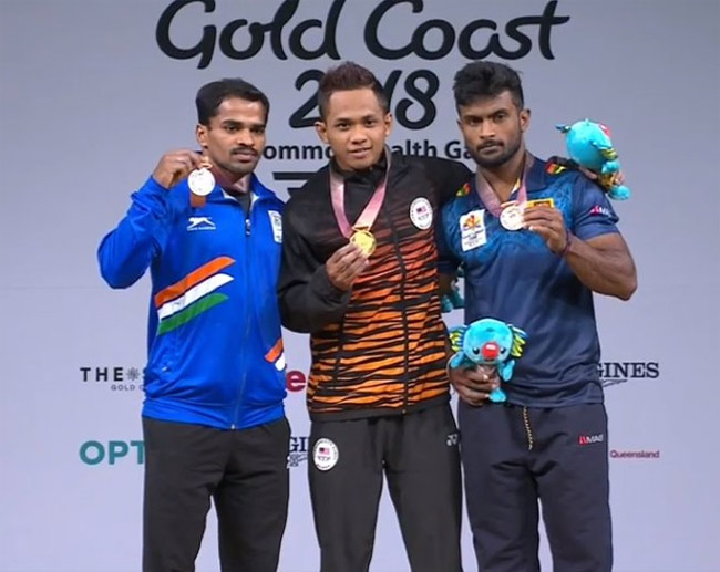 Sri Lanka wins first medal at 2018 CWG