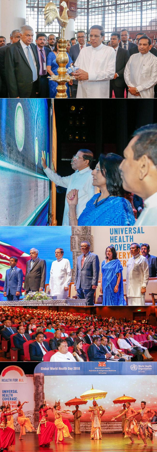 70th World Health Day in Sri Lanka...